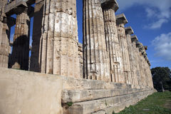 Selinunte E temple Royalty Free Stock Images