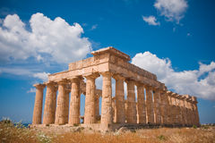 selinunte grecka świątynia Zdjęcia Stock