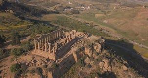 Selinunte, Sicilië, Italië stock videobeelden