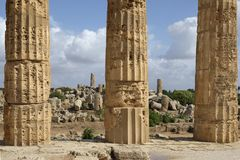 Selinunte, Sicily Italy Royalty Free Stock Photos