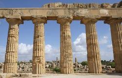 Selinunte, Sicily Italy Royalty Free Stock Photo