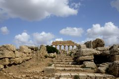 Selinunte,  Sicily Italy Royalty Free Stock Images