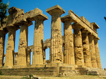 Selinunte, Sicily - Temple of Hera Stock Photography