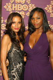 Selita Ebanks, Serena Williams Stock Photo