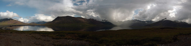 Seljafjordur västra Island Arkivfoton