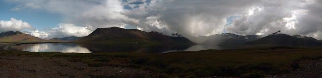 Seljafjordur, West-Island Stockfotos