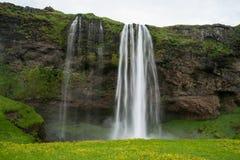 Seljalandfoss i Island Arkivfoton