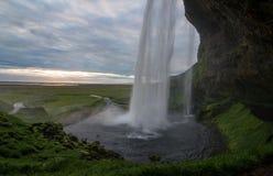 Seljalandfoss i Island Royaltyfri Bild