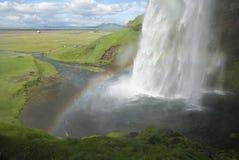 Seljalandfoss-IJsland Fotografía de archivo libre de regalías