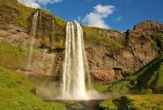 Seljalandfoss siklawa w Iceland Zdjęcie Stock