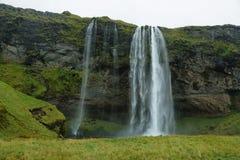 Seljalandfoss vattenfall Royaltyfri Fotografi