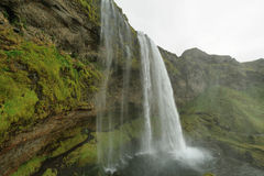 Seljalandfoss-Wasserfall Stockbild