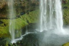 Seljalandfoss-Wasserfall Stockfotografie