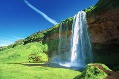 Seljalandfoss waterfall, Iceland Stock Photos
