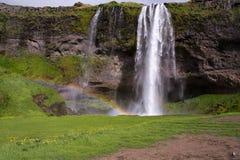 Seljalandsfoss Fotografía de archivo libre de regalías