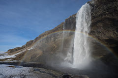 Seljalandsfoss Στοκ φωτογραφία με δικαίωμα ελεύθερης χρήσης