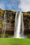 Seljalandsfoss. Beautiful waterfall in Southern Iceland. Royalty Free Stock Photo