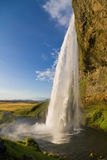 Seljalandsfoss falls Royalty Free Stock Images