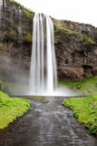 Seljalandsfoss, famous waterfalls of Iceland. Stock Photography