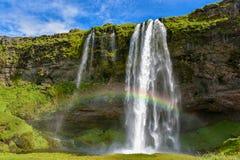 Free Seljalandsfoss I Waterfall N Iceland Royalty Free Stock Photos - 221360848