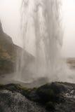 Seljalandsfoss, Iceland from Behind Stock Photos