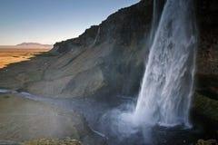 Seljalandsfoss, IJsland Royalty-vrije Stock Foto's