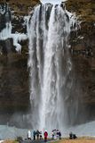 Seljalandsfoss, Islande, l'Europe images stock