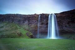 Seljalandsfoss Piękna siklawa w Południowym Iceland Zdjęcia Stock