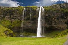 Seljalandsfoss waterfall. Taken during the day Iceland Stock Image