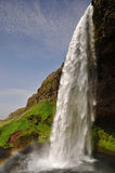 Seljalandsfoss waterfall Stock Images