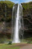 Seljalandsfoss waterfall Royalty Free Stock Image