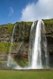 Seljalandsfoss waterfall Royalty Free Stock Photos