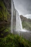 Seljalandsfoss waterfall Royalty Free Stock Photo