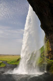 Seljalandsfoss waterfall, Iceland Royalty Free Stock Images