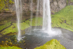 Seljalandsfoss waterfall - Iceland. Royalty Free Stock Photography