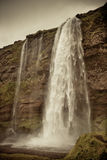 Seljalandsfoss Waterfall, Iceland Royalty Free Stock Images