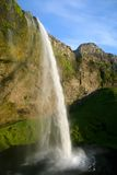 Seljalandsfoss waterfall in Iceland Stock Photos