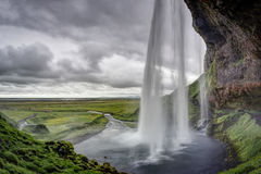Seljalandsfoss Waterfall, Iceland Stock Photography