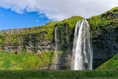 Seljalandsfoss Waterfall, Iceland. royalty free stock images