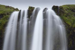 Seljalandsfoss waterfall in Iceland. Europen Stock Photography