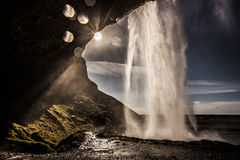 Seljalandsfoss Waterfall - Iceland Stock Photography