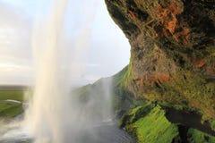 Seljalandsfoss Waterfall, Iceland Royalty Free Stock Photo