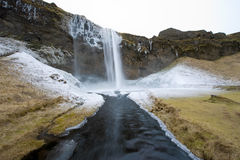 Seljalandsfoss waterfall Royalty Free Stock Images
