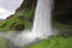 Seljalandsfoss Waterfall, Island Royalty Free Stock Photo