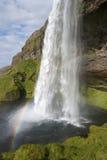 Seljalandsfoss waterfall Royalty Free Stock Photography