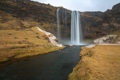 seljalandsfoss waterfall Stock Photos