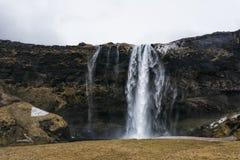 Seljalandsfoss waterfall in Southern Iceland Stock Image