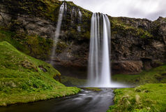 Seljalandsfoss waterfall in southern part of Iceland Royalty Free Stock Photo