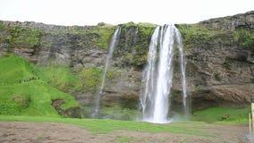 Seljalandsfoss waterfall Stock Photography