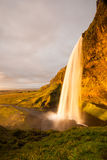 Seljalandsfoss waterfalls Royalty Free Stock Images